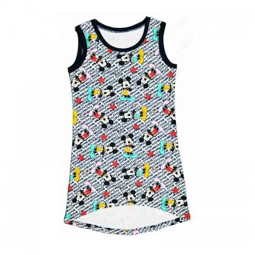 Платье МиккиМаус 10 лет 140см Разноцветный 3458
