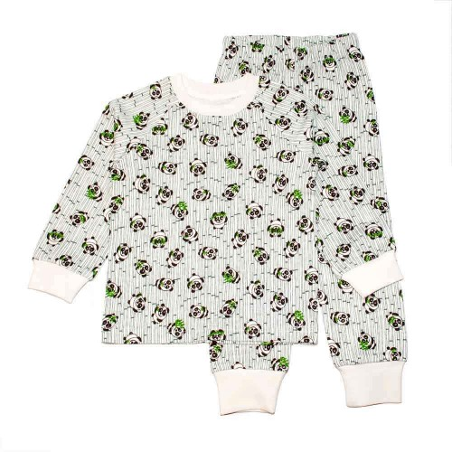 Пижама Панда 3 года 98см Зеленый 3548