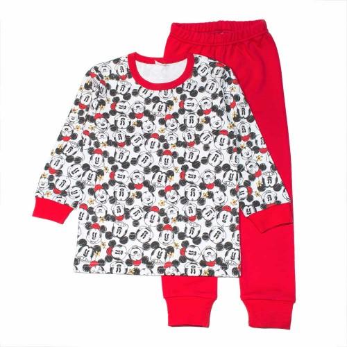 Пижама МиниМаус 6 лет 116см Красный 1709