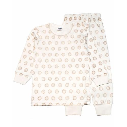Пижама Герб 9 лет 134см Молочный 3538
