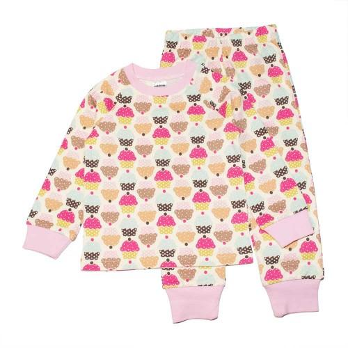 Пижама Пироженое 6 лет 116см Розовый 3530