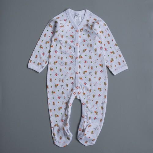 Костюмчик новорожденный Садовник 6-9 месяцев 74см Разноцветный 3053