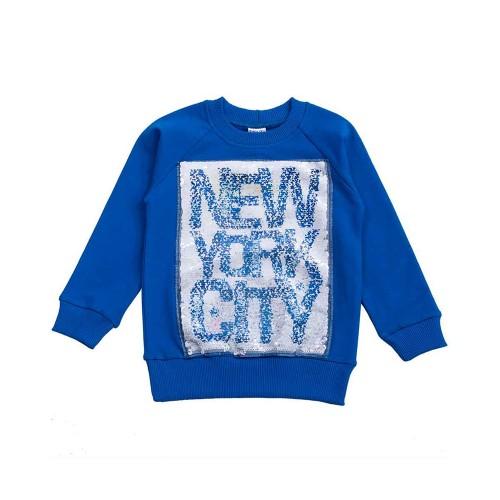 Свитшот New York 5 лет 110см Синий 3434
