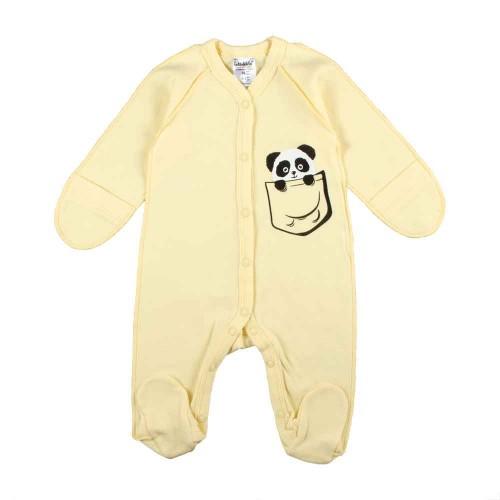 Человечек Панда 0-1 месяцев 56см Желтый 2372