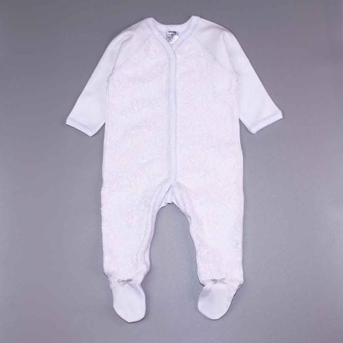Человечек Кружевной 3-6 месяцев 68см Белый 2401