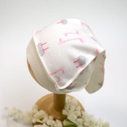 Шапочка Жирафик 0-1 месяцев 56см Розовый 2830
