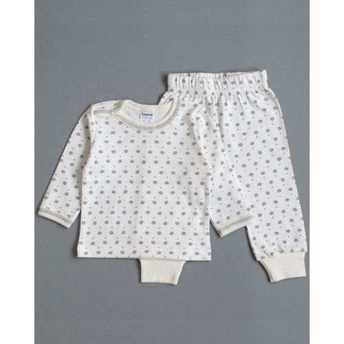 Пижама Корона 6-9 месяцев 74см Серый 3956