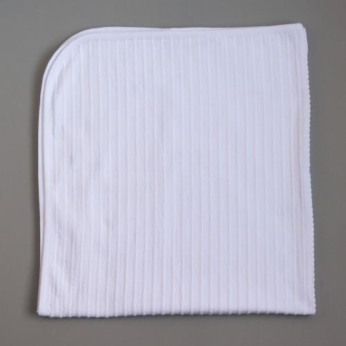Плед Рюши 95х100 см Белый 4343