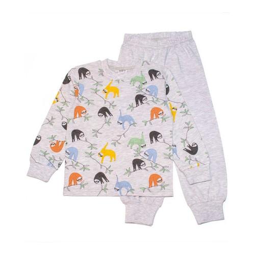 Пижама Коала 3 года 98см Серый 4397