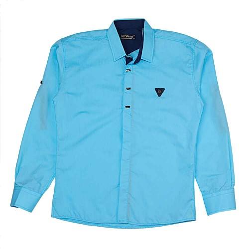 Рубашка Ikoras 11 лет 146см Бирюзовый 5351