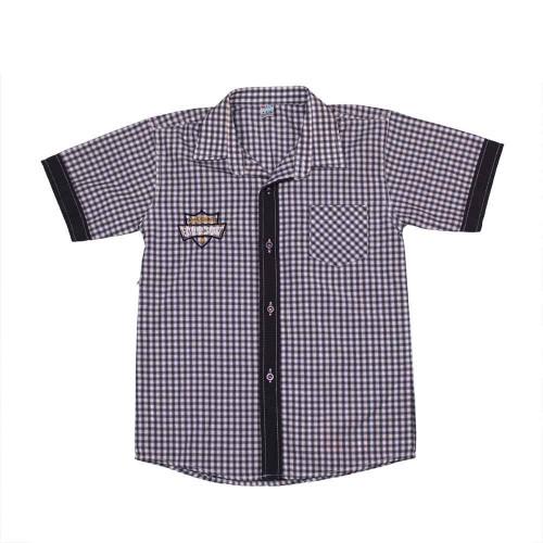 Рубашка Mali 7-8 лет 122см Серый 5362