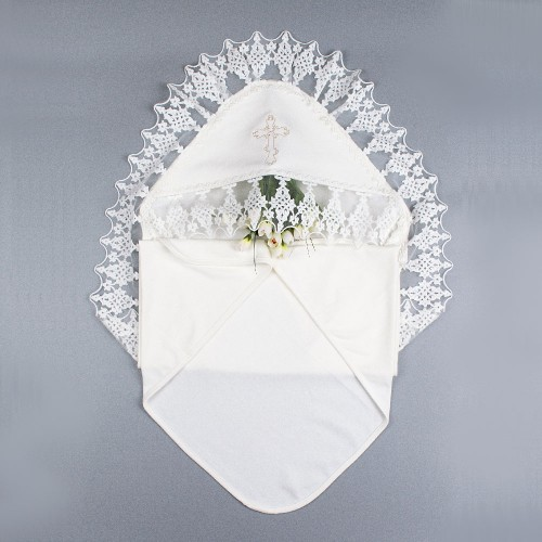 Крыжма (крестильное полотенце) Наследник 90х90 Шампань 5686