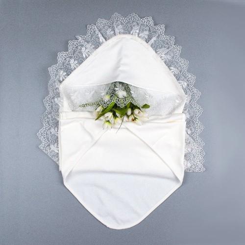 Крыжма (крестильное полотенце) Лилия 90х90 Шампань 5690