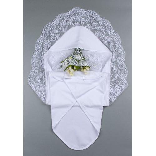 Крыжма (крестильное полотенце) Фантазия широкое 90х90 Шампань 5700