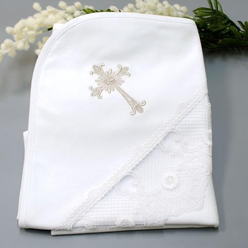 Крыжма (крестильное полотенце) Натхнення мини 90х90 Белый 5715